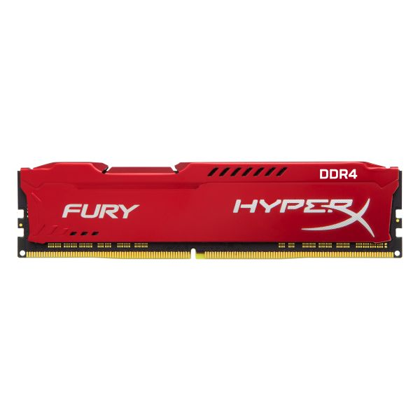 MEMORIA DDR4 KINGSTON HYPERX FURY RED 8GB 2133 MHZ CL14(HX421C14FR2/8)