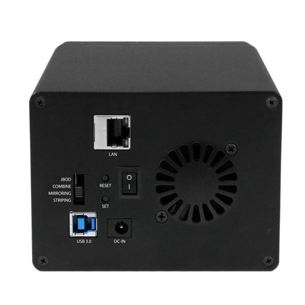 CAJA NAS USB3.0 MEDIASERVER  2 BAHIAS HDD 3,5 SATA STARTECH S352BMU3N