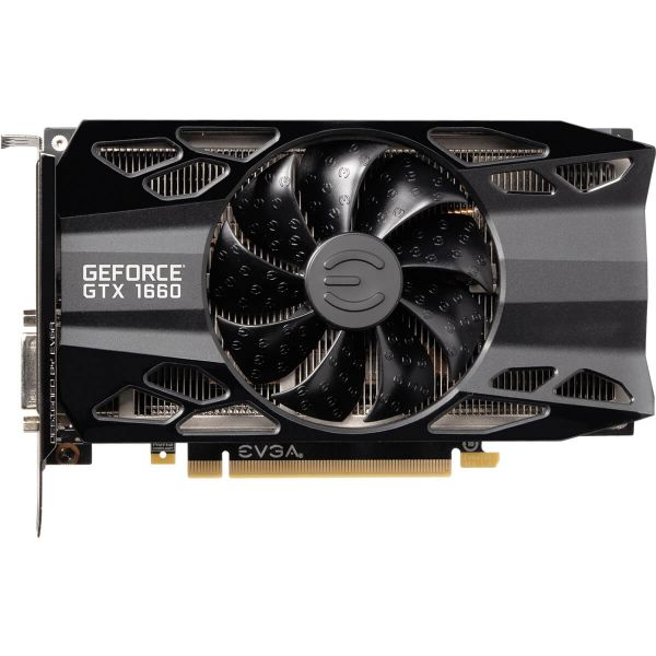 TARJETA DE VIDEO EVGA GEFORCE GTX 1660 XC OVERCLOCKED 6GB GDDR6