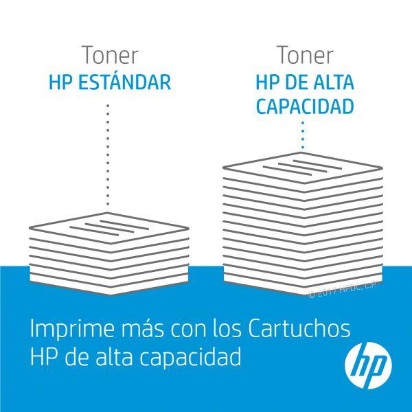 TONER HP 508X CIAN ALTO RENDIMINETO LASERJET PARA M552-M553 (CF361X)
