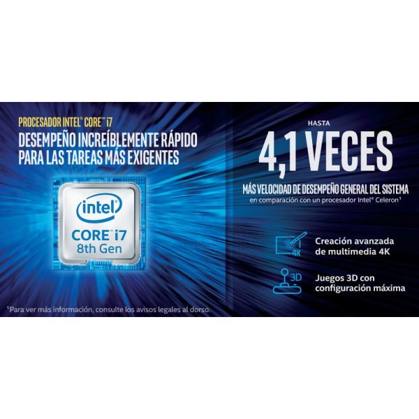 COMPUTADORA DELL OPTIPLEX 7060 MFF CORE I7 8700 8GB 256GB W10PRO 41HNK