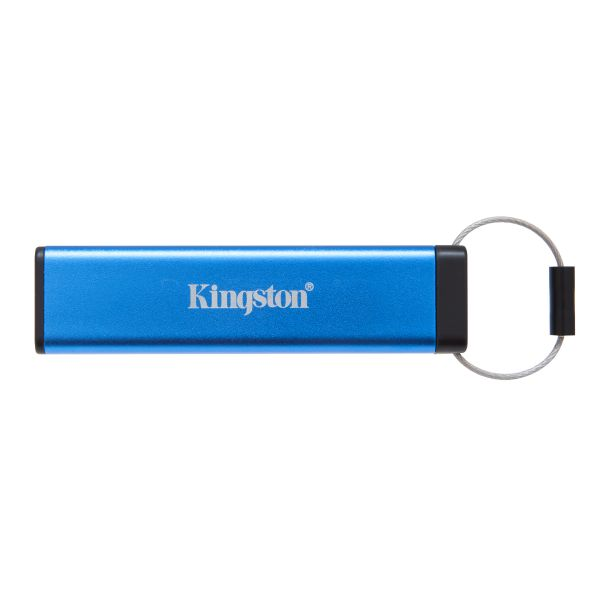 MEMORIA FLASH KINGSTON 16GB CON LOCK USB 3.1 AZUL (DT2000/16GB)