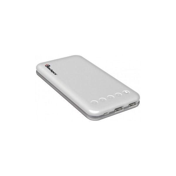 POWER BANK BLACKPCS ARES BLANCO 10000 MAH LED EPBW9-10000