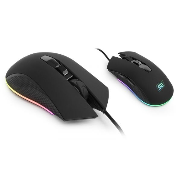 KIT VORAGO START THE GAME KMH-501 TECLADO MOUSE HEADSET TAPETE C LUZ