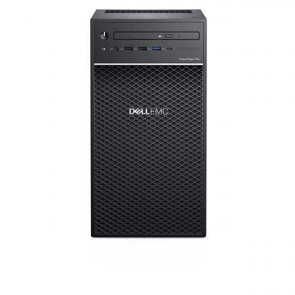 SERVIDOR DELL T40, X-2224 3.5GHZ 4C 8RAM 1TB DVD 2DTR1