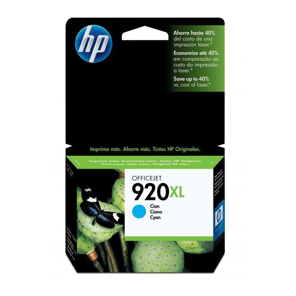 CARTUCHO HP 920XL CYAN  (CD972AL)