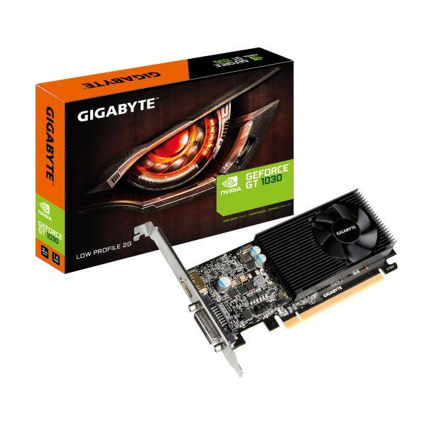 TARJETA DE VIDEO GIGABYTE  NVIDIA GEFORCE GT 1030 2GB  GV-N1030D5-2GL