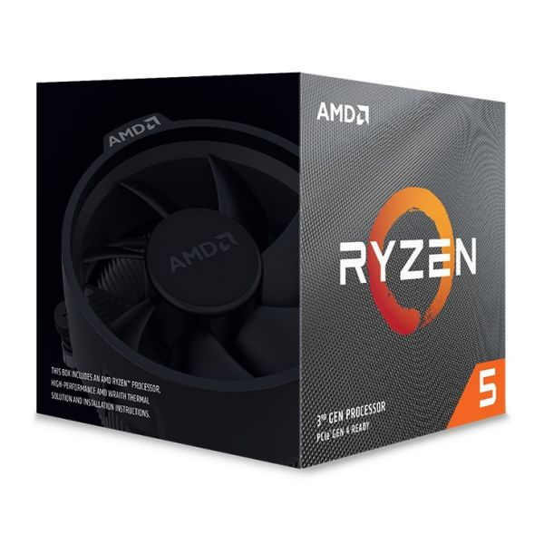 PROCESADOR AMD RYZEN 5 3600XT AM4 3.8 GHz 32MB 95W 100-100000281BOX
