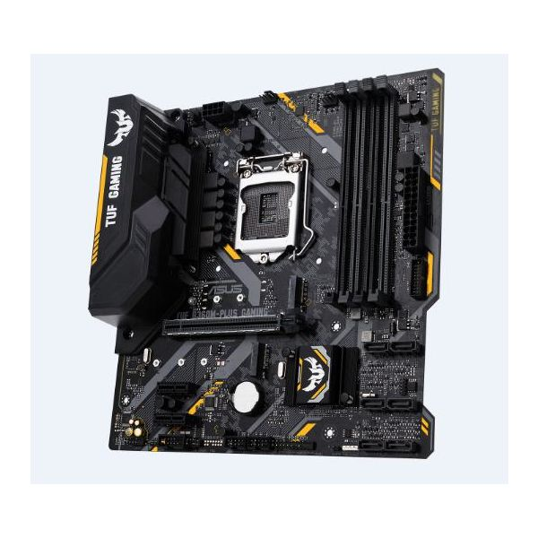 TARJETA MADRE ASUS TUF B360M-PLUS GAMING 1151 DDR4 HDMI VGA M.2