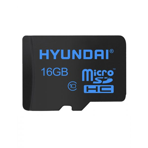 MEMORIA MICRO SD HYUNDAI SDC16GU1 16 GB NEGRO
