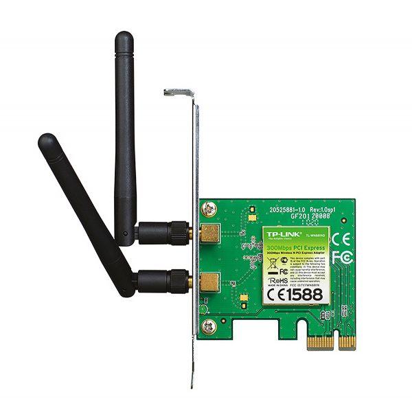 TARJETA RED INAL PCI EXP TPLINK N300 MBPS 802.11N 2DBI 2ANT TL-WN881ND