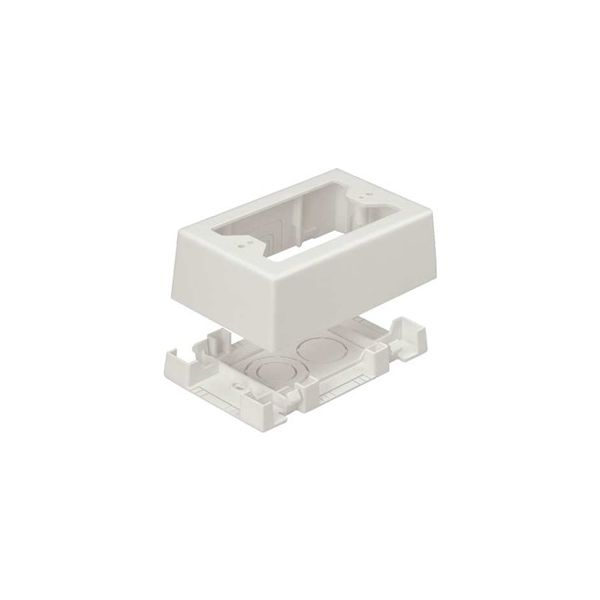CAJA APARENTE PANDUIT JBX3510IW-A COLOR BLANCO