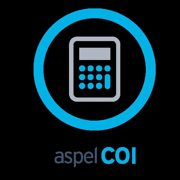 SOFTWARE ADMIN ASPEL COI 7.0 1LICENCIA ANUAL PARA PC (COI12M)