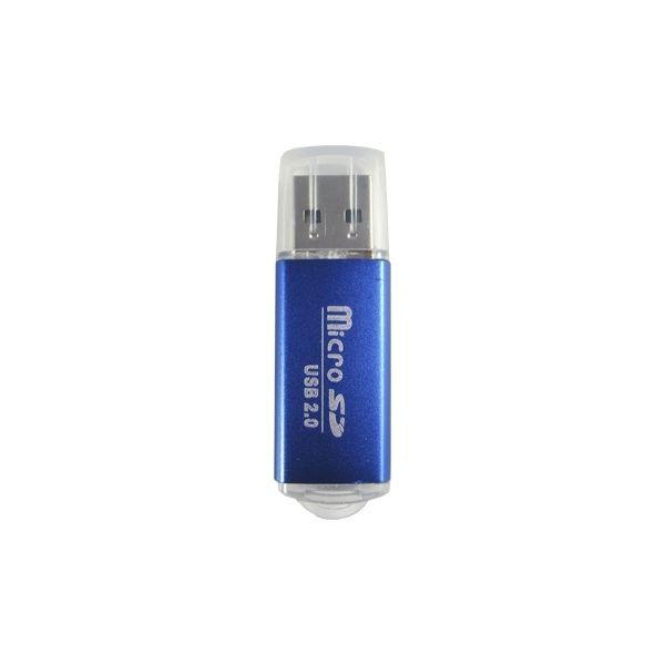LECTOR MICROSD BROBOTIX 345673A 480 MBIT/S AZUL USB 2.0