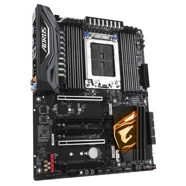 TARJETA MADRE GIGABYTE X399 AORUS PRO DDR4-SDRAM 128GB AMD SOCKET TR4