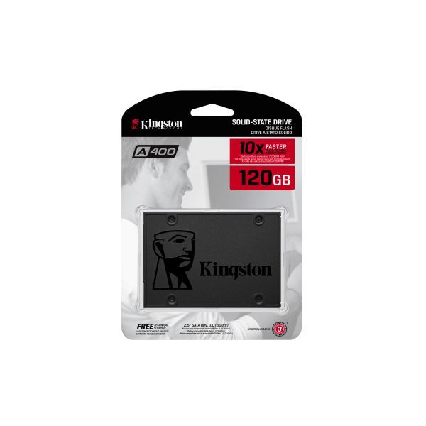 UNIDAD SSD KINGSTON 120GB SATA3 2.5