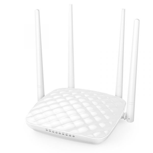 ROUTER TENDA FH456 EXTERNO 4 ANTENAS COLOR BLANCO