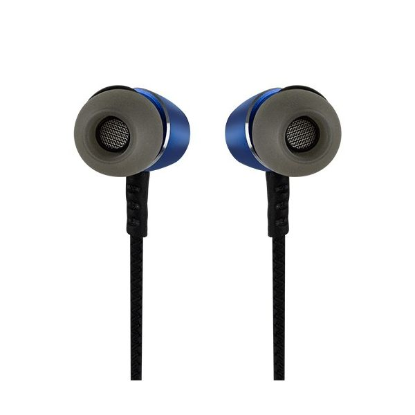 AUDIFONOS INALAMBRICOS BLUETOOTH PERFECT CHOICE AZUL IN-EAR PC-116646