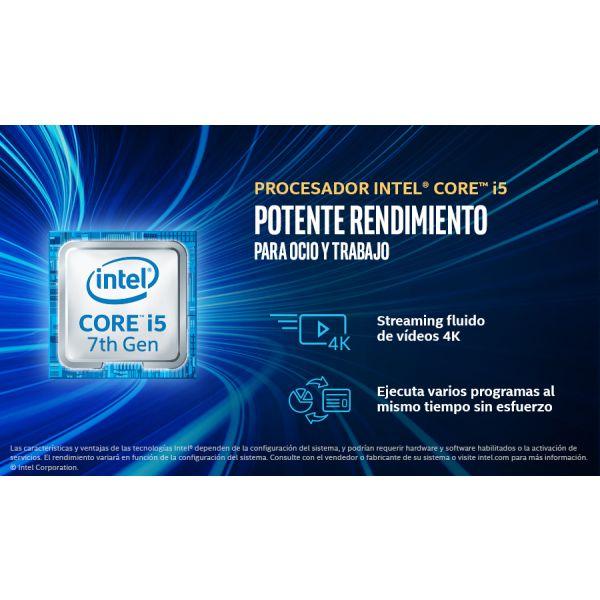 MINI PC INTEL BOXNUC7I5BNH, CORE I5-7260U, DDR4-SDRAM, NEGRO
