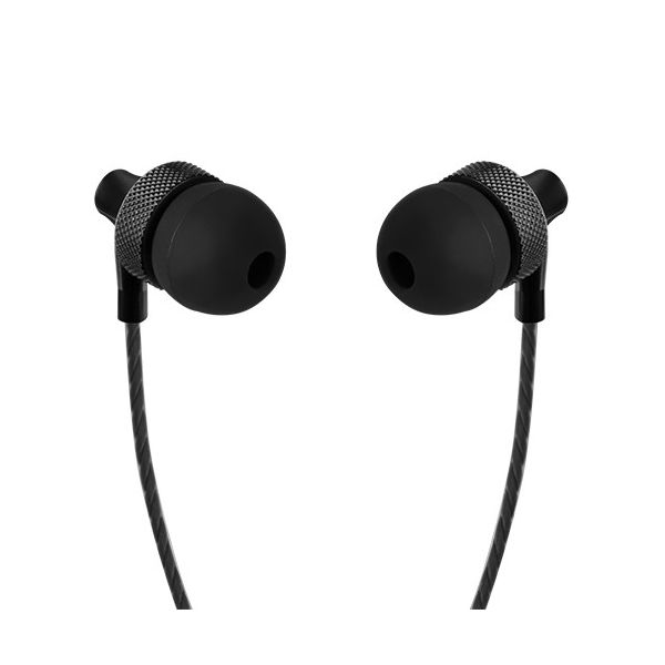 AUDIFONOS IN EAR PERFECT CHOICE PC-116608 NEGRO ALAM 3.5 MM 1.2 M