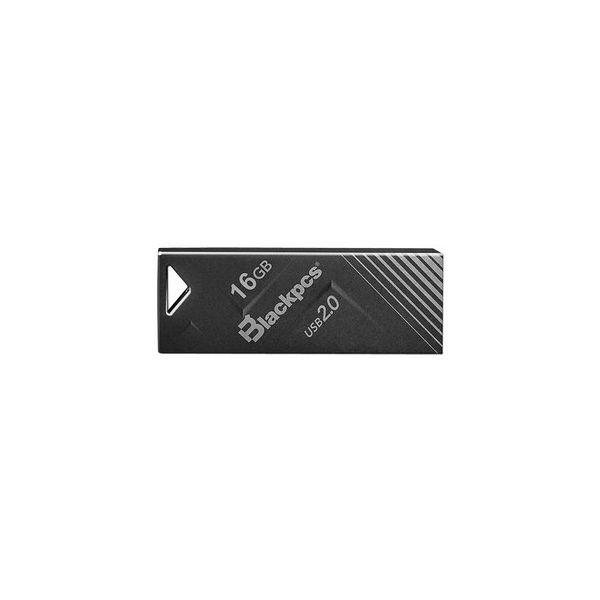 MEMORIA FLASH USB BLACKPCS 2104 16GB NEGRO METALICA (MU2104BL-16)