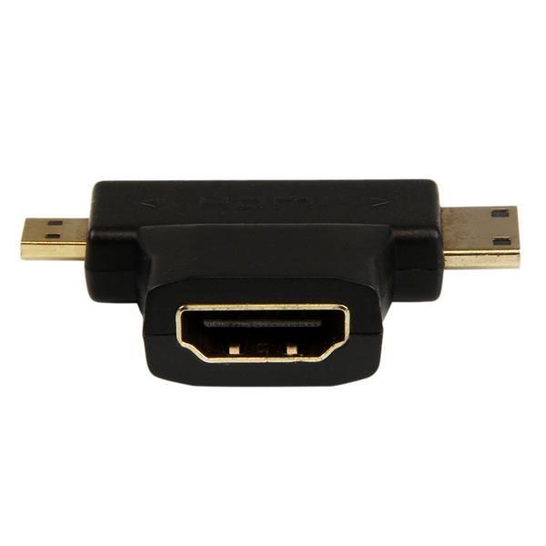 STARTECH ADAPTADOR HDMI EN T HDMI A MINI-HDMI O MICRO HDMI HDACDFMM