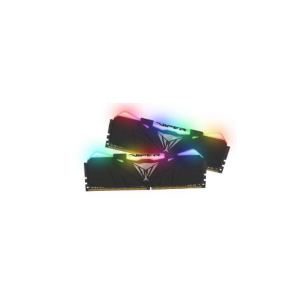 MEMORIA RAM PATRIOT VIPER RGB KIT 2X8GB 4133MHZ PVR416G413C9K