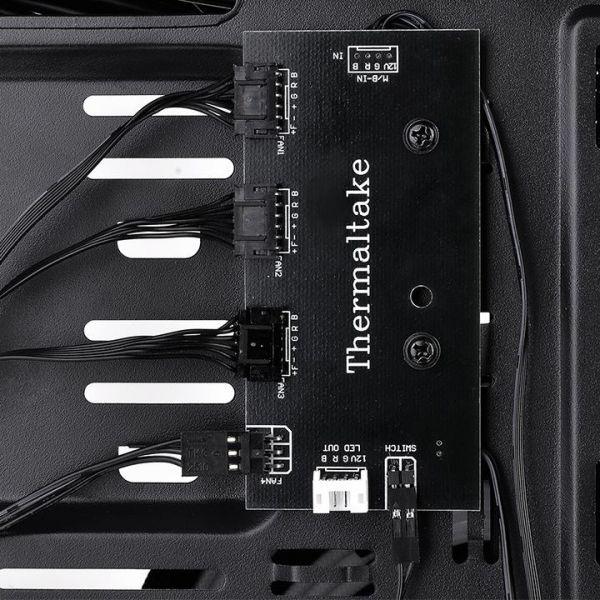GABINETE TMK VERSA J23 THERMALTAKE MIDI-TOWER PC SPCC ATX NEGRO