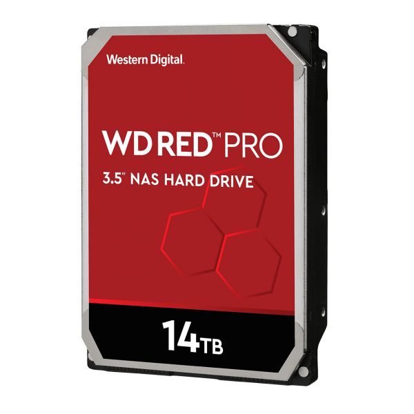 DISCO DURO INTERNO WD 14TB 3.5 512MB SATA3 7200 NAS RED PRO WD141KFGX