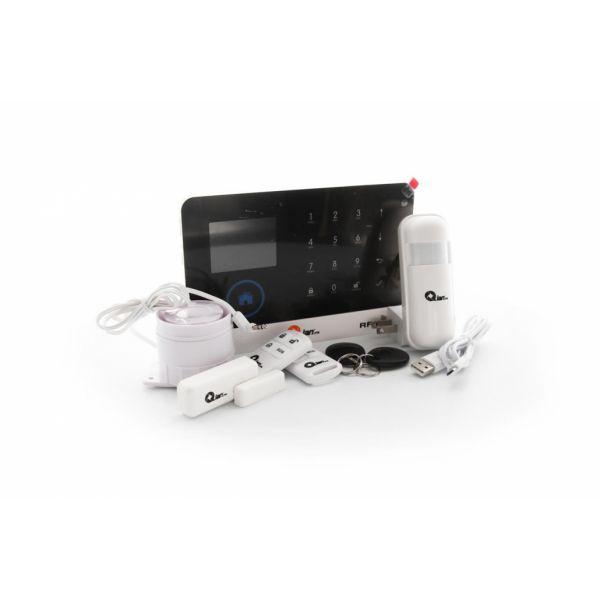 ALARMA QIAN SS5500 KIT INTEGRAL REMOTO SENSOR/SIRENA/RFID HOGAR/NEGOCI