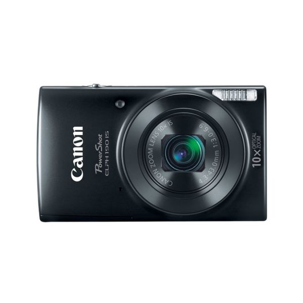 CAMARA DIGITAL CANON POWERSHOT ELPH 190, 20MP, ZOOM 10X, NEGRA