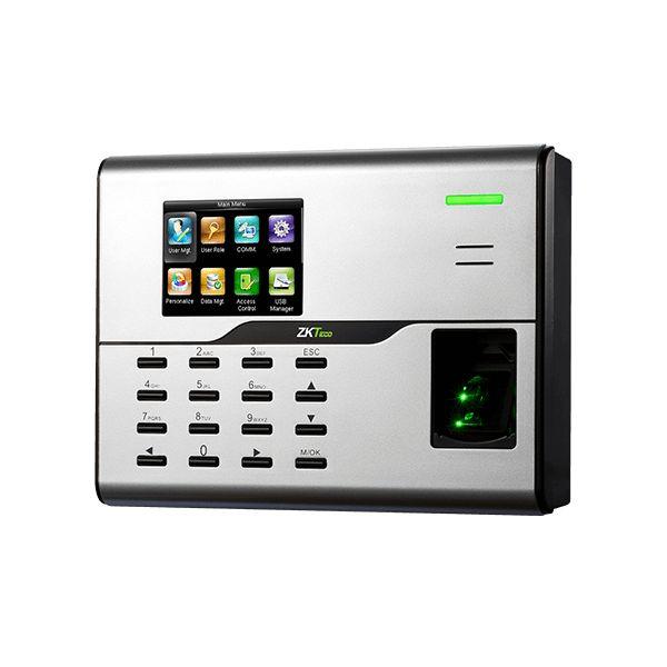 CONTROL DE ACCESO Y ASISTENCIA ZK TECO UA860 USB NEGRO BLANCO SI