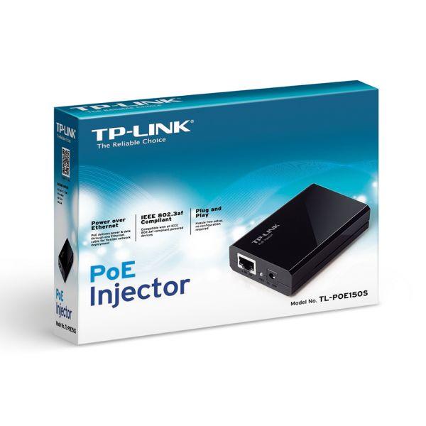 ADAPTADOR INYECTOR POE TP-LINK TL-POE150S