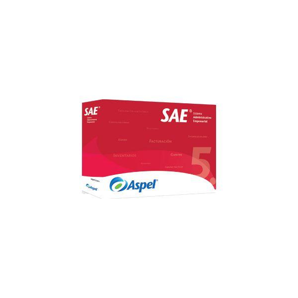 SOFTWARE ADMIN ASPEL SAE 7.0 5 USUARIOS ADICIONALES ( SAEL5K)