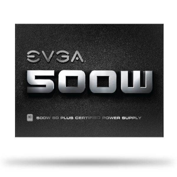 FUENTE DE PODER EVGA 100-W1-0500-KR 500W 80 PLUS