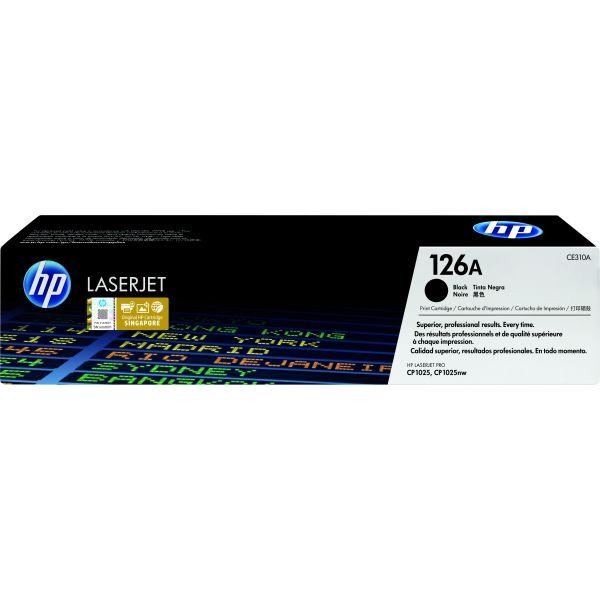 TONER HP 126A NEGRO PARA M175NW MFP/M275MFP/CP1025NW (CE310A)
