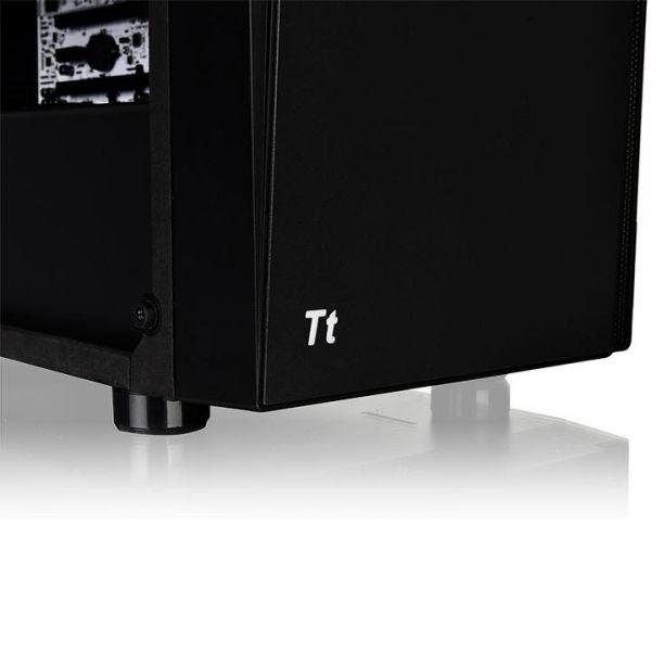 GABINETE THERMALTAKE VERSA J21 TEMPERED GLASS MIDI-TOWERATX NEGRO