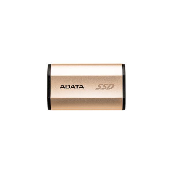 UNIDAD SSD EXT. ADATA SE730 250GB USB3.1 DORADO(ASE730-250GU31-CGD)