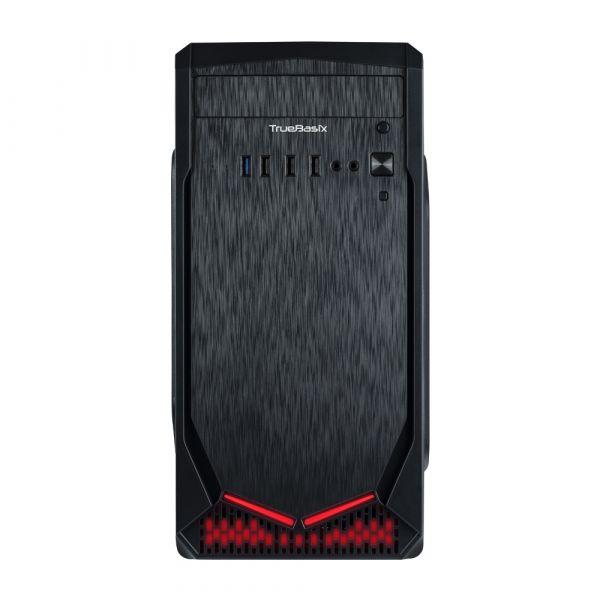 GABINETE TRUE BASIX IRON ATX/MINI ITX 500W NEGRO TB-924887