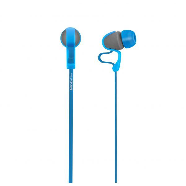 AUDIFONOS ACTECK IN-EAR CON MICROFONO URBAN KAOS AZUL MB-916400