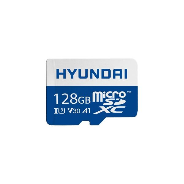 MEMORIA MICRO SD HYUNDAI 128GB NEGRO CLASE 10 SDC128GU3