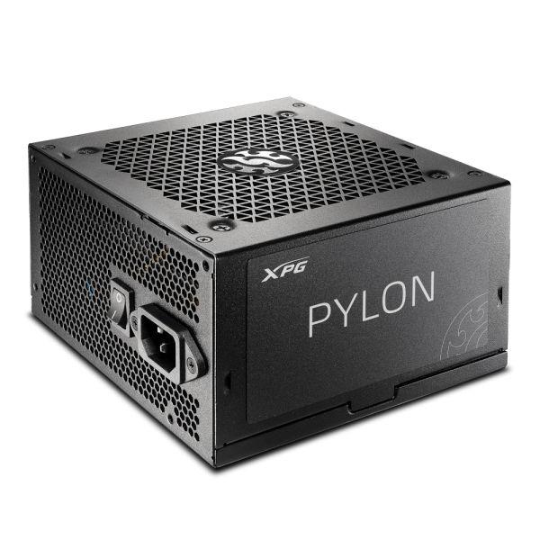 FUENTE DE PODER PARA PC GAMER XPG PYLON 550W 80+ BRONZE PYLON550B-BKCU