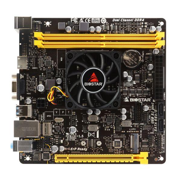 TARJETA MADRE BIOSTAR A10N-9630E CON PROCESADOR AMD FX A10-9630P DDR4