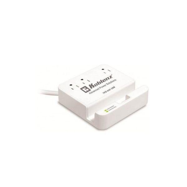 ESTACION DE CARGA PARA TABLET KOBLENZ TPS-540 USB 3 CONT 3 USB