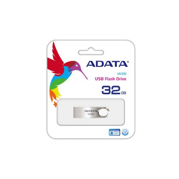 MEMORIA USB ADATA UV310 32 GB USB 3.1 AUV310-32G-RGD