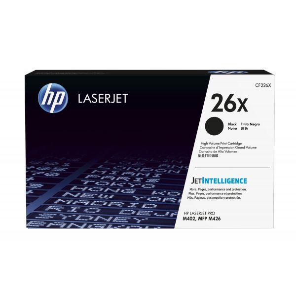 TONER HP 26X NEGRO 9,000 PAGS. PARA LASERJET M402, M426 (CF226X)