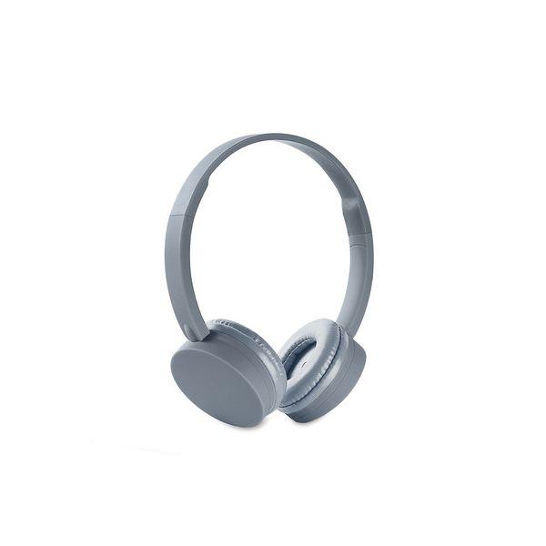 AUDIFONOS ACTECK ENERGY HEADPHONES BT1 BLUETOOTH COLOR GRIS(EY-426690)