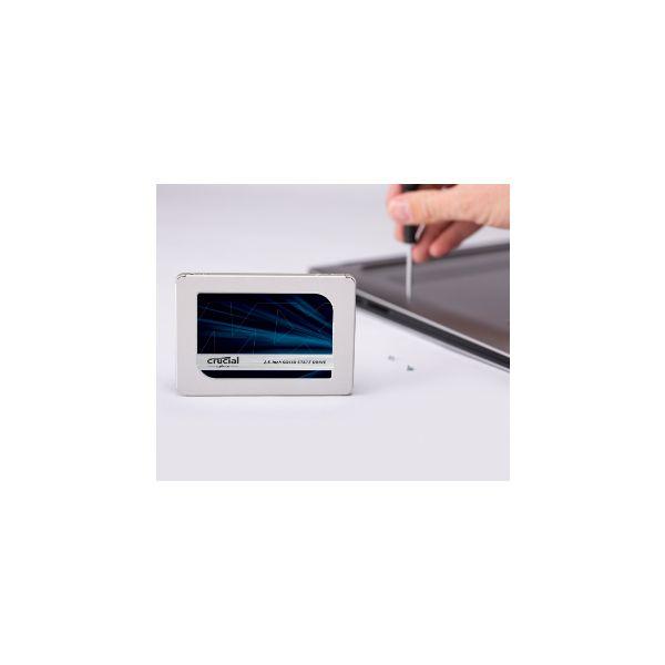 SSD CRUCIAL MX500 500GB SATA 560 MB/S 510 MB/S 6 GBIT/S CT500MX500SSD1
