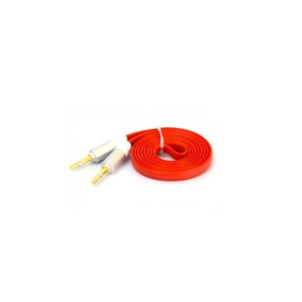 CABLE AUXILIAR NACEB TECHNOLOGY NA-488ROJ 1 METRO COLOR ROJO