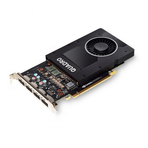 TARJETA DE VIDEO PNY VCQP2000-ESPPB QUADRO P2000 5GB GDDR5 PCIe3 CAJA